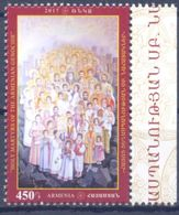 "2017. Armenia, Holy Icon ""Martyrs Of The Armenian Genozide"", 1v, Mint/** - Arménie"