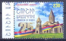 2017. Armenia, 25y Of Liberation Of Shushi, 1v, Mint/** - Arménie