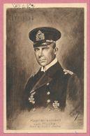 Carte Signée T. KASKELINE - Kapitänleutnant Von MÜCKE - Führer Der Emden II ( Ayesha ) - Guerre 14/18 - STUTTGART - Guerra 1914-18
