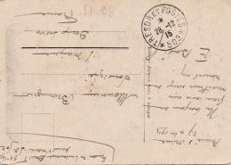 FRANCE  :  Cachet Trésor Et Postes 502 Sur Carte De Salonique Du 28 12 1915 Armée D'Orient - Poststempel (Briefe)
