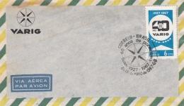 BRESIL  :  40 Eme Anniversaire De La Varig Sur Lettre - Lettres & Documents