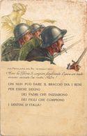 CARTOLINA DEL PRESTITO NAZIONALE CON PROCLAMA DEL RE - ILLUSTRATORE MAZZA - Italia