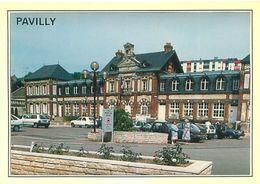 Pavilly    - L 'hôtel De Ville  Et La Place Renovée                 Y1300 - Pavilly
