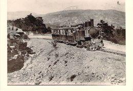 Carte Photo  Train (animée) H375 - Trains
