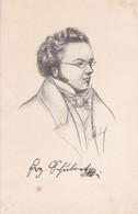 FRANZ SCHUBERT. ILLUSTRATION BY S. K. DE PARDISE-TBE-BLEUP - Music And Musicians