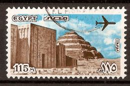 1975 - Pyramide De Saccara Et Entrée Du Sanctuaire - PA N°161 - Poste Aérienne