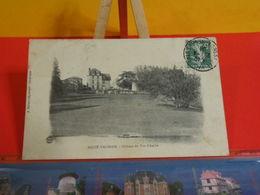 Carte Postale > [79] Deux-Sèvres > Sauzé Vaussais > Le Château Du Puy D'Anché - Circulé 1909 - Sauze Vaussais
