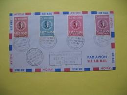 FDC Année  1958 Viêt-Nam Sud  Série  N° 94 à 97 - Viêt-Nam