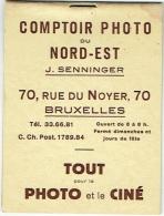 Foto. Carnet-Classeur  Pour 8 Photos. Senninger, Comptoir Photo. Bruxelles. - Matériel & Accessoires