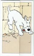 Hergé. Publicité BASF. Chien Milou. Carte Ouvrant En 3 Volets - Cartes Postales