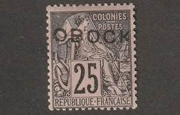 Obock N° 17 Charniére* - Unused Stamps