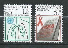 Kazakhstan 2001 Health.medicine.AIDS  MNH - Kazachstan
