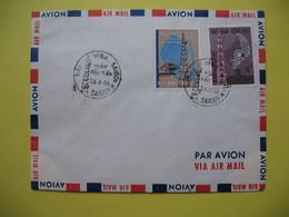 FDC Année  1966  Viêt-Nam Sud   N° 279 Et 280  Télécom - Viêt-Nam