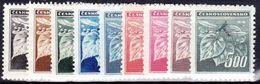 ** Tchécoslovaquie 1945 Mi 424-32 (Yv 372-80), (MNH) - Unused Stamps