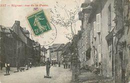 C-18-525 : RIGNAC. RUE DE LA POSTE - France