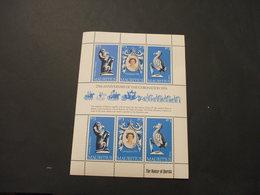 MAURITIUS  - BF 1978 INCORONAZIONE/ANIMALI, 3 + 3 Valori In Minifoglio - NUOV(++) - Mauritius (1968-...)