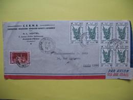 Lettre Année  1954  Pour La France Oblitération  Phnom-Penh - Cambodge