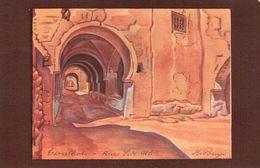 """La Rotochrome - """" L'Algérie"""" Edition Artistique - Marque  """" La Salamandre """" - Fontainebleau -Tamelhat - Scenes"""
