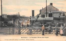 60 - OISE / Montataire - 603749 - Le Passage à Niveau Des Forges - Beau Cliché Animé - Montataire