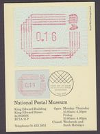 Great Britain 1984 Frama 1v Maxicard (37431) - Maximumkaarten