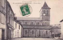 LACAPELLE MARIVAL PLACE DE L'EGLISE (dil337) - Lacapelle Marival