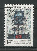 Tschechische Republik 1993  Mi.Nr. 5 , EUROPA CEPT - Zeitgenössische Kunst - Gestempelt / Used / (o) - Tschechische Republik