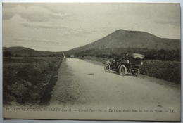 COUPE GORDON BENNETT (1905) - CIRCUIT MICHELIN - LA LIGNE DROITE DANS LES BOIS DE RIOM - Unclassified