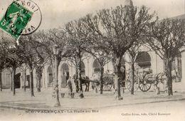 VALENCAY LA HALLE AU BLE (CARTE PRECURSEUR) - Autres Communes