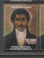 ECUADOR , 2017, MNH, EUGENIO ESPEJO,  MEDICAL PIONEERS, LAWYERS, WRITERS, REVOLUTIONARIES, 1v - Famous People