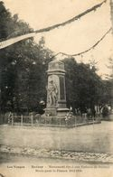 CPA - DARNEY (88) - Aspect De L'inauguration Du Monument Aux Morts - Darney