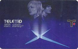 Faroe - Teledit - Woman And Man, 100Kr. GSM Refill, Exp. 01.04.2007, Used - Faroe Islands