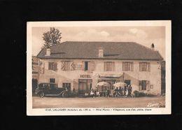 C.P.A. D UN HOTEL A LALLIGIER 07 - France