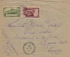 Lettre Reunion Saint Denis Chef De Gendarmerie - Réunion (1852-1975)