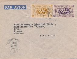 Lettre Reunion Saint Denis France Libre - Réunion (1852-1975)