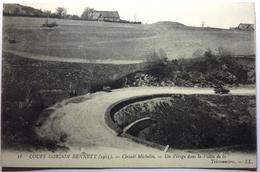 COUPE GORDON BENNETT (1905) - CIRCUIT MICHELIN - UN VIRAGE DANS LA VALLÉE DE LA TEISSONNIÈRE - France