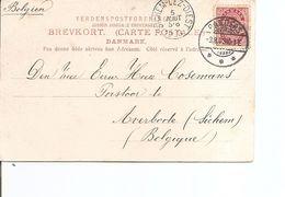 Danemark ( CP De 1903 De Randers Vers La Belgique à Voir) - 1864-04 (Christian IX)