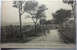 COUPE GORDON BENNETT (1905) - CIRCUIT MICHELIN - LA ROUTE DESCEND VERS CLERMONT - France