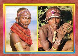 Kenia, Massai, MiF Vogel, Mombasa Nach Weil Im Schoenbuch 1997 (46025) - Kenia