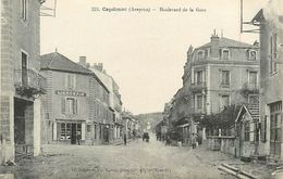 C-18-563 : CAPDENAC-GARE. BOULEVARD DE LA GARE. - Autres Communes