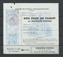 FRANCE - FRANCHISE MILITAIRE COLIS N°YT 15 - COTE YT : 10€ - Franchise Militaire (timbres)