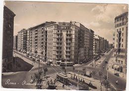 628 ROMA PIAZZALE DELLE PROVINCIE ANIMATA 1959 - Piazze