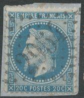 Lot N°40161  N°29A, Oblit GC 2954 Pont-St-Esprit, Gard (29), Ind 3 - 1863-1870 Napoleon III With Laurels