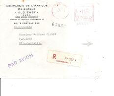 Ruanda-urundi ( Lettre Recommandée Par Avion De 1964 De Usumbura Vers Elisabethville à Voir) - Ruanda-Urundi