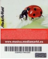 TARJETA REGALO DE ESPAÑA, GIFT CARD. MEDIA MARKT. 002. - Tarjetas De Regalo
