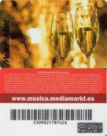 TARJETA REGALO DE ESPAÑA, GIFT CARD. MEDIA MARKT. 003. - Tarjetas De Regalo