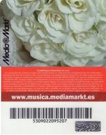TARJETA REGALO DE ESPAÑA, GIFT CARD. MEDIA MARKT. 004. - Tarjetas De Regalo