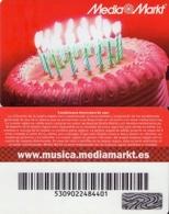 TARJETA REGALO DE ESPAÑA, GIFT CARD. MEDIA MARKT. 007. - Tarjetas De Regalo