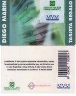 TARJETA REGALO DE ESPAÑA, GIFT CARD. DIEGO MARIN. 009. - Tarjetas De Regalo