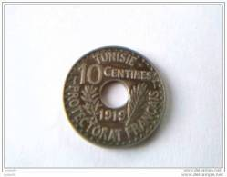 10 Centimes 1919 - TUNISIE - Protectorat  Français - Superbe - - Tunisia