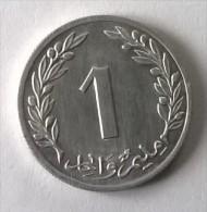 Monnaie - Tunisie - 1 Millim 1960 - Superbe - - Tunisia
